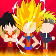 Super Stick Fight All Star Hero Chaos War Battle